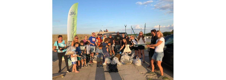 SportsKollektivet renser Strandparken
